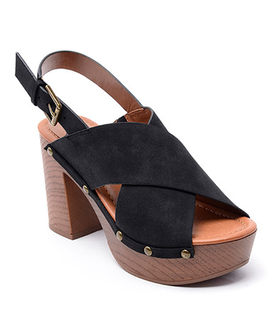 Dani Wedge in Black