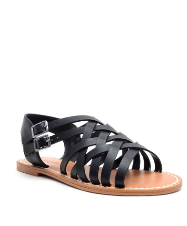 Brieg sandal in black.