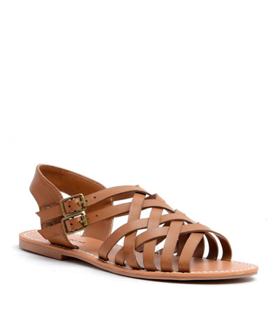 Brieg sandal in taupe.