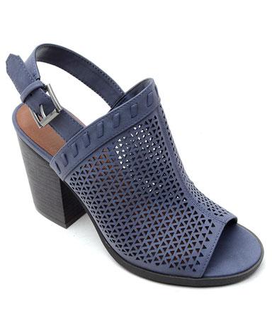 Pearl sandal in blue.